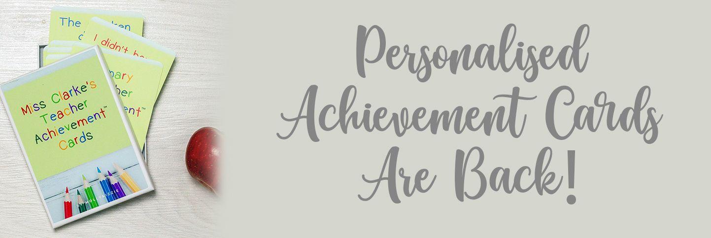 Achievement Cards Header