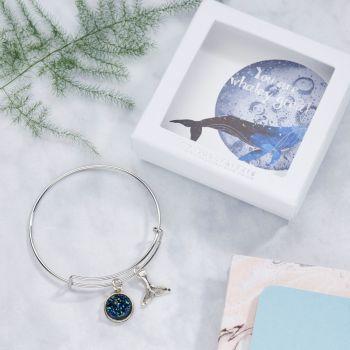 Whale Bangle In Gift box