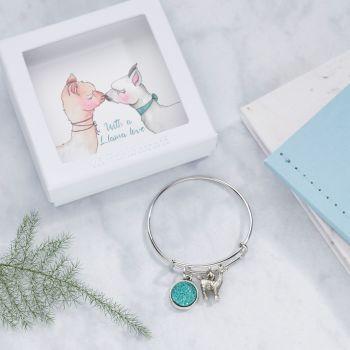 Llama Bangle In Gift Box