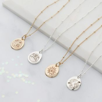 Planet Zodiac Personalised Necklace