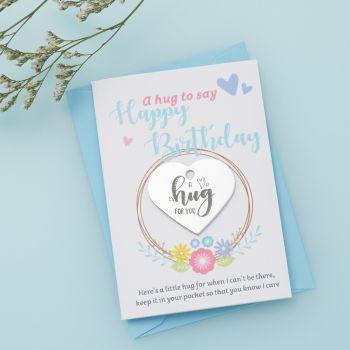 Floral 'Happy Birthday' Little Hug - LH040