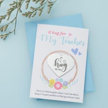 Floral Teacher Little Hug - LH047