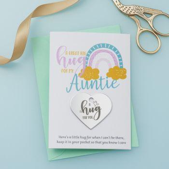 Rainbow Auntie Little Hug - LH049