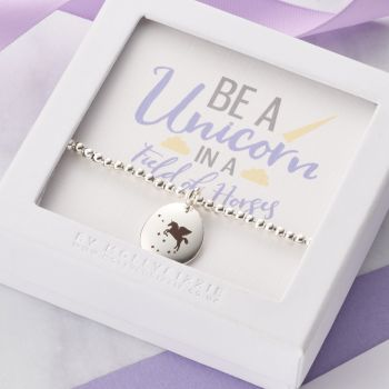 Be A Unicorn Beaded Bracelet-PB008