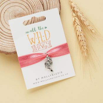 All The Wild Things- Flamingo Stretch Bracelet-ST079