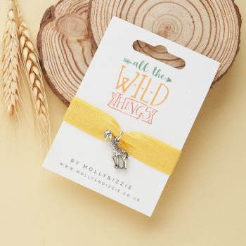 All The Wild Things- Giraffe Stretch Bracelet-ST081