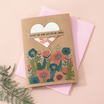 Plantable Seed Card Poppy Meadow- SC002