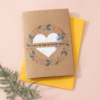 Plantable Seed Card Summer Flowers- SC016