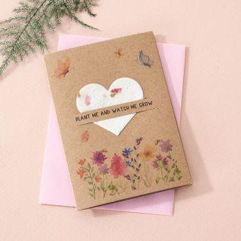 Plantable Seed Card Wildflowers- SC004
