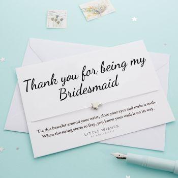 Thank You Bridesmaid (WISH070)