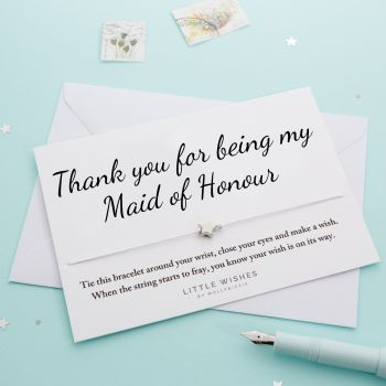 Thank You Maid of Honour (WISH071)
