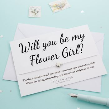 Will You Be My Flower Girl? (WISH066)