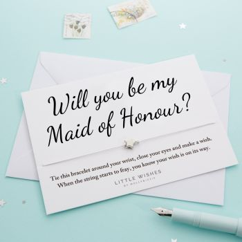 Will You Be My Maid of Honour? (WISH065)