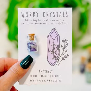 Worry Crystals - Amethyst
