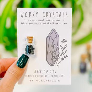 Worry Crystals - Black Obsidian
