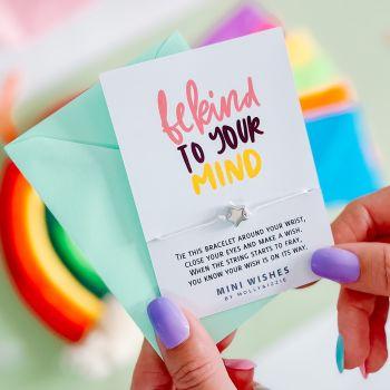 Be Kind To Your Mind Mini Wish (MINIWISH050)