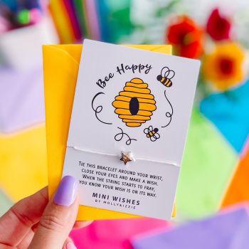 Bee Happy Mini Wish (MINIWISH165)