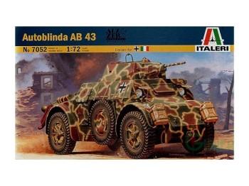 ITALERI 1/72 TANK AUTOBLINDA AB43