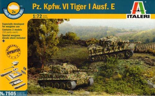 ITALERI 1/72 FAST ASSY PZKPFW V1 TIGER AUSF E [2]