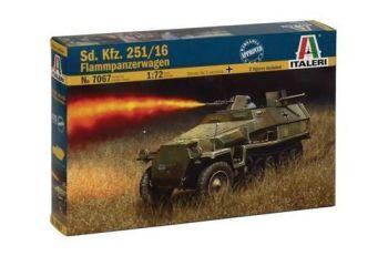 Italeri 1/72 Sd Kfz 251/16 Flammpanzerwagon Half Track
