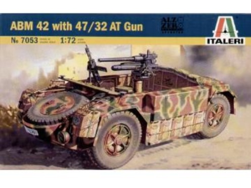 Italeri 1/72 ABM 42 with 47/32 Anti Tank Gun