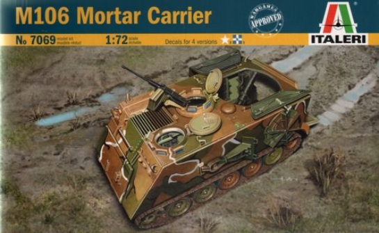 Italeri 1/72 Tank M106 Mortar Carrier