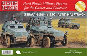 PSC - 1/72nd SdKfz 250 alte halftrack with variant options