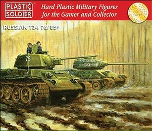 Reinforcements: PSC 1/72 Russian T34 Tank