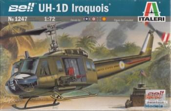 """Italeri - 1/72 UH-1D """"SLICK"""" + Aust Decals"""
