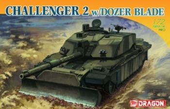Dragon - 1/72 Challenger II with Dozer Blade