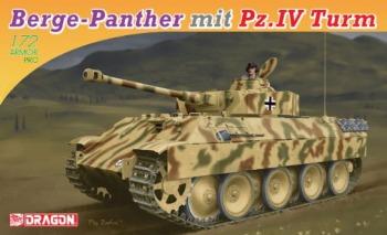 Dragon - 1/72 Berge-Panther mit Aufgesetztern Pz.Kpfw.IV Turm