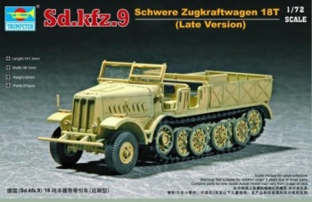 Trumpeter - 1/72 German Famo SDKFZ 9/18t