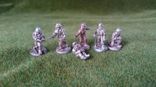 DB12 Desert British Artillery Crew