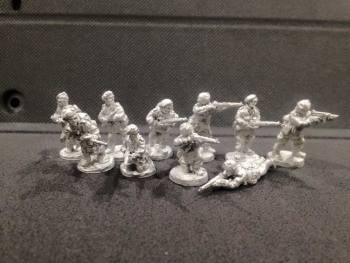 WTM-LC01: Late War British Commandos (Walcheren)