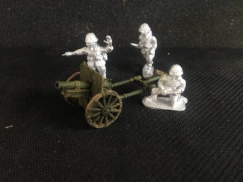 JN14 - Japanese SNLF Type 41 Mountain Gun + 3 Crew