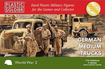 PSC: 1/72nd German Medium Trucks