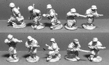 WTM-GW01 German Infantry Squad in Zeltbahn