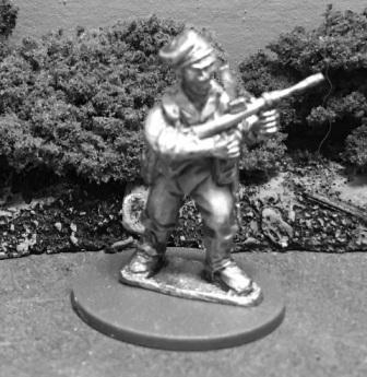 AMF41c: 28mm WWII Australian Commando with Owen Gun 3
