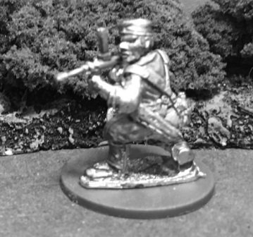 AMF41d: 28mm WWII Australian Commando with Owen Gun 4
