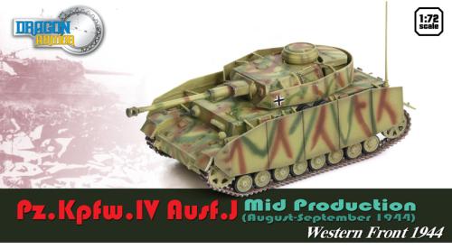 DA60656: Dragon Armour 1/72 Pz.Kpfw.IV Ausf.J Mid Production