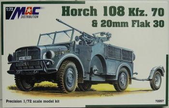 MAC72057: MAC 1/72 HORCH 108 KFZ. 70 & 20MM FLAK