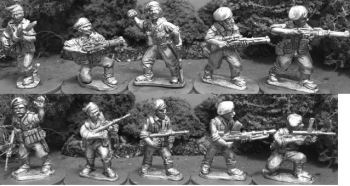 WTM-AMF40: 28mm Australian Commando Rifle Squad