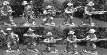 AIF30: 28mm Late Pacific Australian Rifle Squad