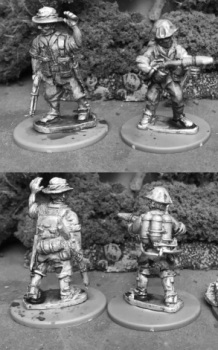 AIF35: 28mm Australian Flamethrower Team