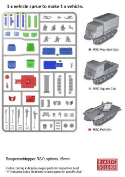 Reinforcements: PSC 1/72 (20mm) German Raupenschlepper Tractor + Pak40 ATG