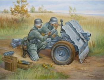 Zvezda 1/72 German 75-mm Infantry Gun