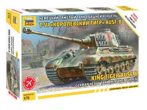 Zvezda 1/72 King Tiger Henschel