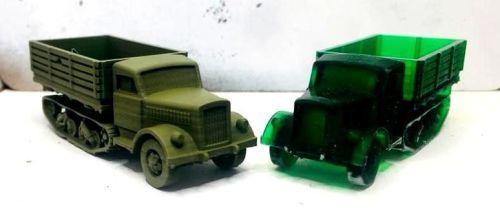 GV04: German Opel Maultier Truck