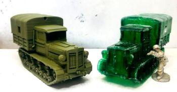 RV01: Soviet Komintern Tractor