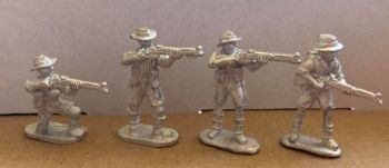 AMF01: 28mm WWII Australian Rifles 1